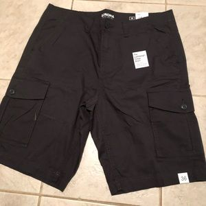 These are brand new black shorts from kohl's.